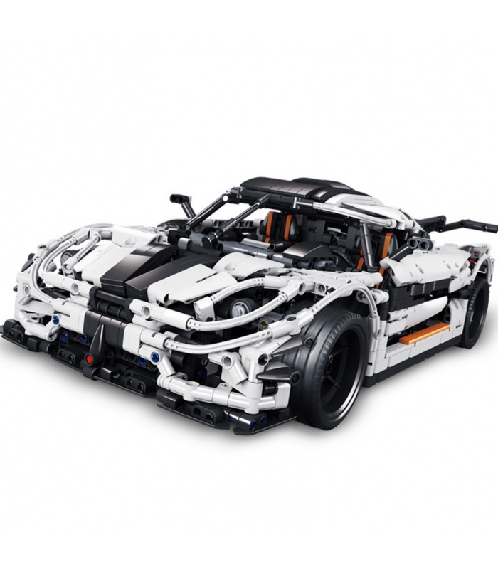 カスタムMOC Koenigsegg一:1スポーツカー対応のブセット