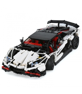 Custom MOC Lamborghini Aventador LP 720-4 Building Bricks Set