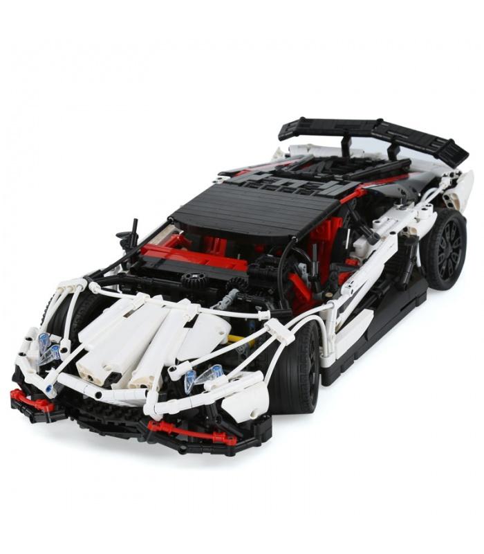 Custom MOC Lamborghini Aventador LP 720-4 Building Bricks Toy Set