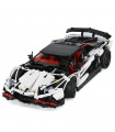 Custom MOC Lamborghini Aventador LP 720-4 Building Bricks Toy Set