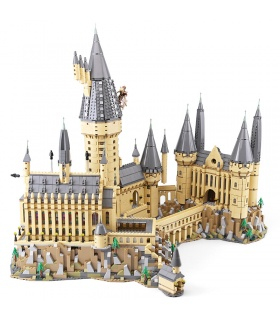 Personalizado De Harry Potter Hogwarts Castillo Compatible Edificio De Ladrillos De Juguete Set 6125 Piezas