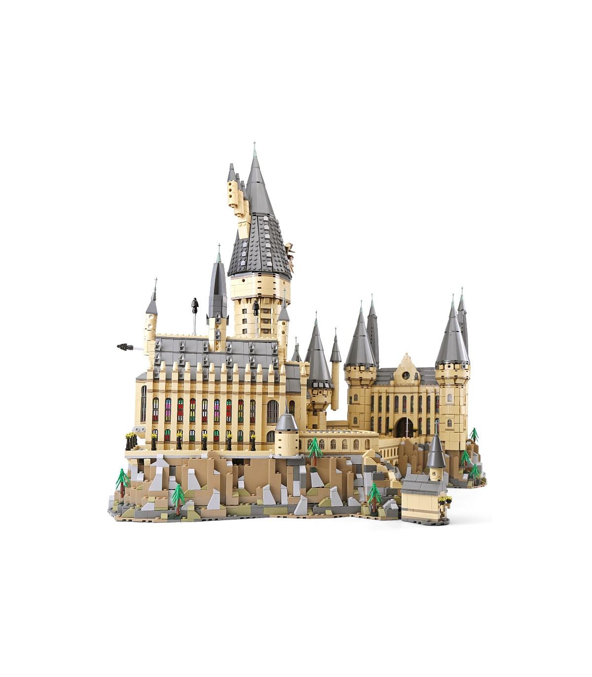 Harry Potter Serices Hogwarts Castle Defense War Blocks Bricks Compatible W