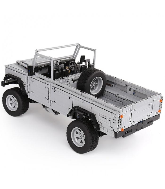 Benutzerdefinierte Wilde Off-Road-Fahrzeuge MOC-Kompatible Bausteine Spielzeug-Set 3643