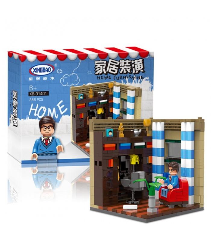 XINGBAO 01401 Genuine Living House Building Bricks Set