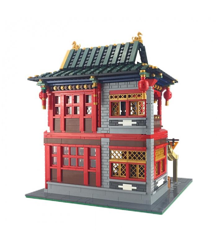 XINGBAO 01002 Chino Pub Edificio de Ladrillos Conjunto