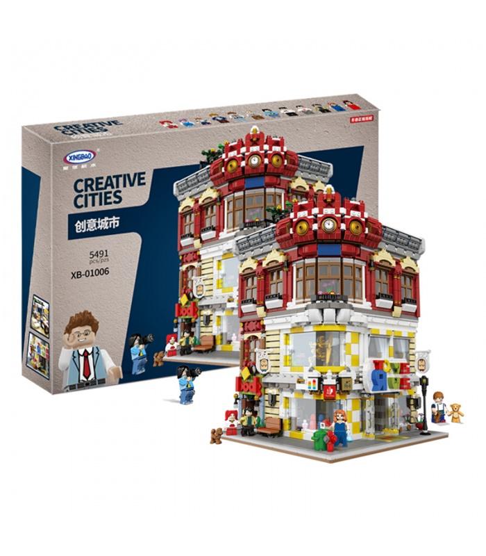 XINGBAO 01006 игрушек и книжные магазины строительного кирпича комплект