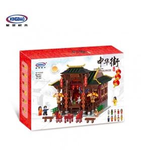 XINGBAO 01020 Chinois Théâtre de Briques de Construction, Jeu de
