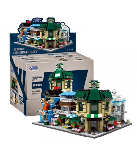 XINGBAO 01105 Original City Mini Modular Building Bricks Set