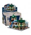 XINGBAO 01105 оригинальный город мини-модульное здание кирпич комплект игрушки