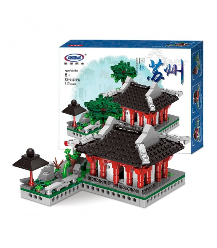 XINGBAO 01110 Garden Suzhou Building Bricks Set