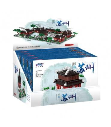 XINGBAO 01110 Jardín de Suzhou Edificio de Ladrillos Conjunto