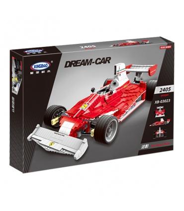 XINGBAO 03023 Rouge de Formule Un, Voiture de Course, Briques de Construction, Jeu de