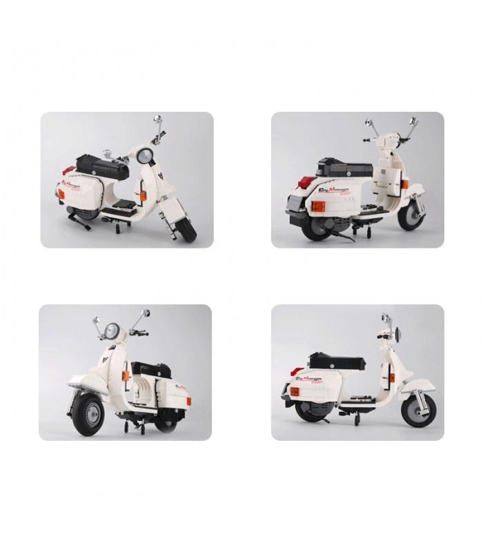 XINGBAO 03002 Vespa P200 Scooter Edificio de Ladrillos Conjunto