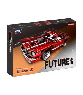 XINGBAO 07001 V8 Muscle Car Building Bricks Set