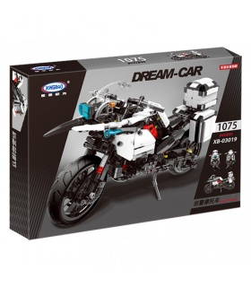 XINGBAO 03019 Patrol Motorcycle Building Bricks Set