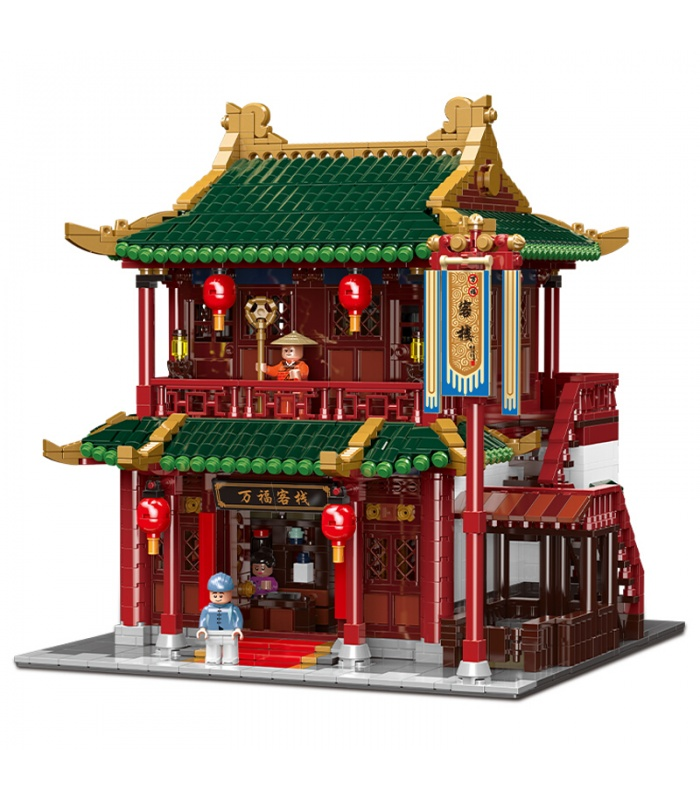 XINGBAO01022Wanfu宿建物の煉瓦セット