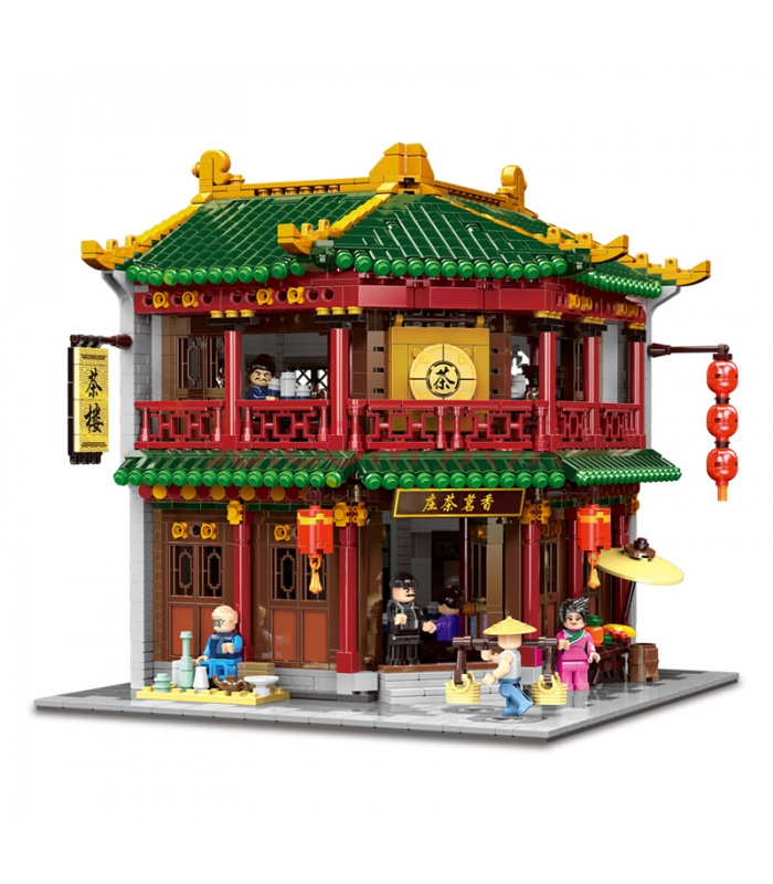 XINGBAO 01021 Xiangming Tea House Building Bricks Set