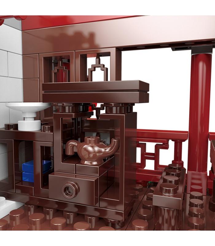 XINGBAO 01021 Xiangming Tee-Haus Bau-Steine-Set