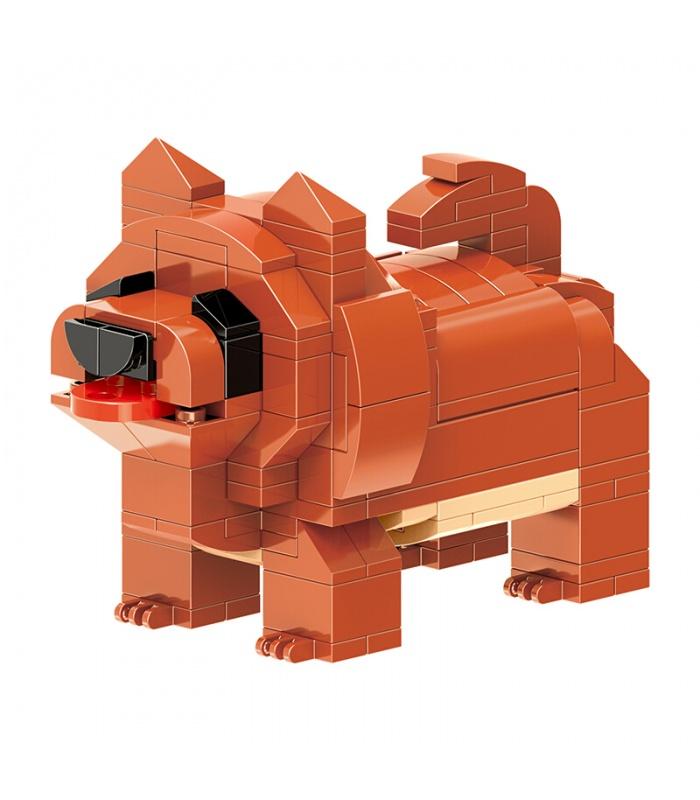 XINGBAO 18003 милый щенок кирпич строительный кирпич комплект