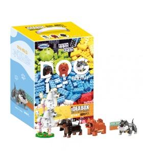 XINGBAO 18003 Cute Brick Puppy Building Bricks Set