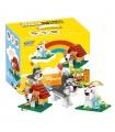 XINGBAO 18002 Schönen Hund Bausteine Spielzeug-Set
