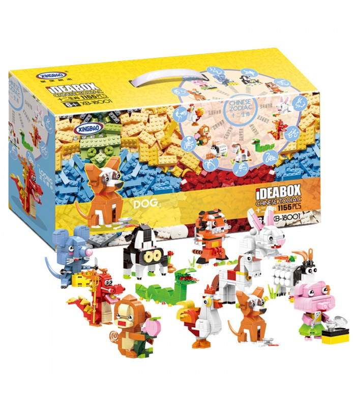 XINGBAO 18001 Chinese Zodiac Building Bricks Set