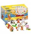 XINGBAO 18001 Chinese Zodiac Building Bricks Toy Set