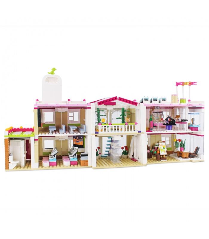 XINGBAO 12001 Feliz de la Enseñanza de la Construcción de Edificio de Ladrillos Conjunto