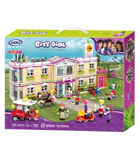 XINGBAO 12002 The Gym Club Building Bricks Set