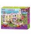 XINGBAO 12002 The Gym Club Building Bricks Toy Set