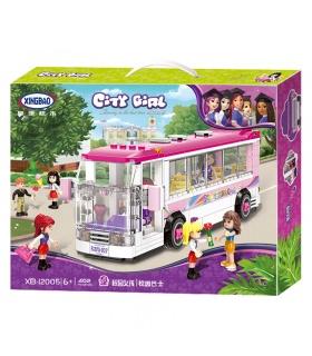 XINGBAO 12005 Le Bus de l'École Briques de Construction, Jeu de