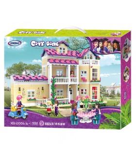 XINGBAO 12006 La Feliz Dormitorio Edificio de Ladrillos Conjunto