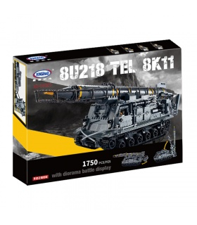 XINGBAO 06005 Military Tanks 8U218 TEL 8K11 Building Bricks Set