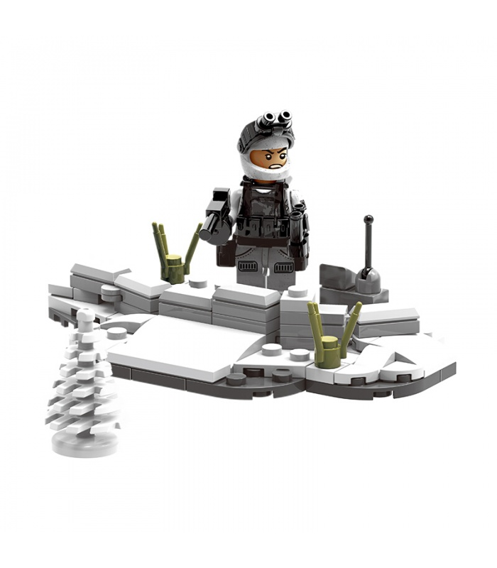 XINGBAO 06009 Extreme Snowmobiling Building Bricks Set