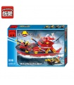 ENLIGHTEN 906 Water Spray Fire Boat Building Blocks Spielzeug-Set