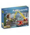 XINGBAO14002救助の高いビルの建物の煉瓦玩具セット