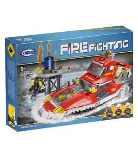 XINGBAO 14003 Marine-Feuer Boot Bau-Steine-Set