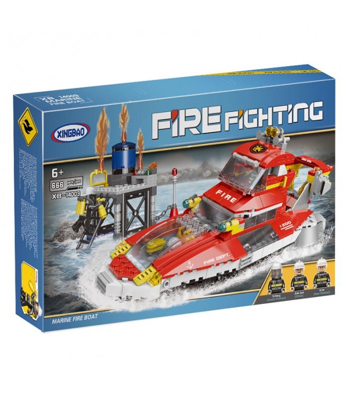 XINGBAO14003海上火災船ビル煉瓦セット