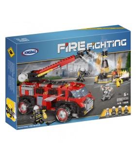 XINGBAO 14005 Industrial de Rescate de Incendios del Edificio de Ladrillos Conjunto