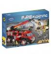 XINGBAO 14005 Industrial de Rescate de Incendios del Edificio de Ladrillos Conjunto de Juguete