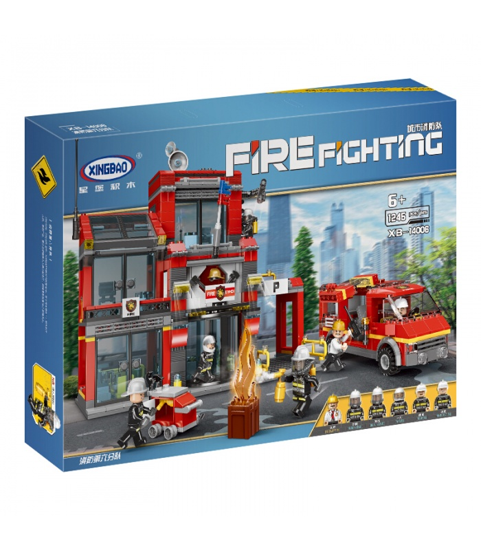 XINGBAO 14006 Fire Sixth Branch Building Bricks Set