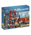 XINGBAO 14006 Fire Sixth Branch Building Bricks Toy Set