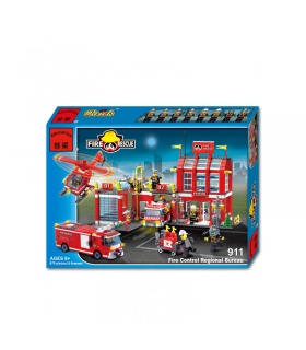 ENLIGHTEN 911 Fire Control Regional Bureau Building Blocks Set