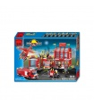 ENLIGHTEN 911 Fire Control Regional Bureau Building Blocks Spielzeug-Set