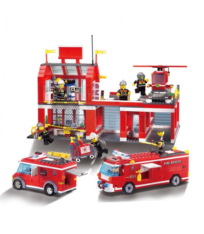 AUFKLÄREN 911 Fire Control Regional Bureau Bausteine-Set