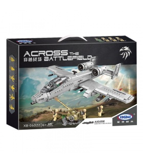 XINGBAO 06022 A10 Combat Aircraft Building Bricks Set