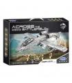 XINGBAO 06022 A10 Combat Aircraft Building Bricks Toy Set