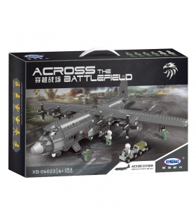 XINGBAO 06023 AC130 Gunship Building Bricks Set