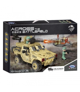 XINGBAO 06024 The Wheeled Armored Vehicle Building Bricks Set