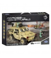 XINGBAO 06024 The Wheeled Armored Vehicle Building Bricks Toy Set